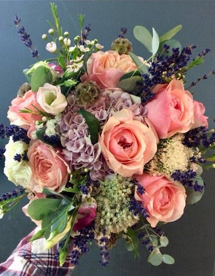 Bouquet artisanal multi couleur